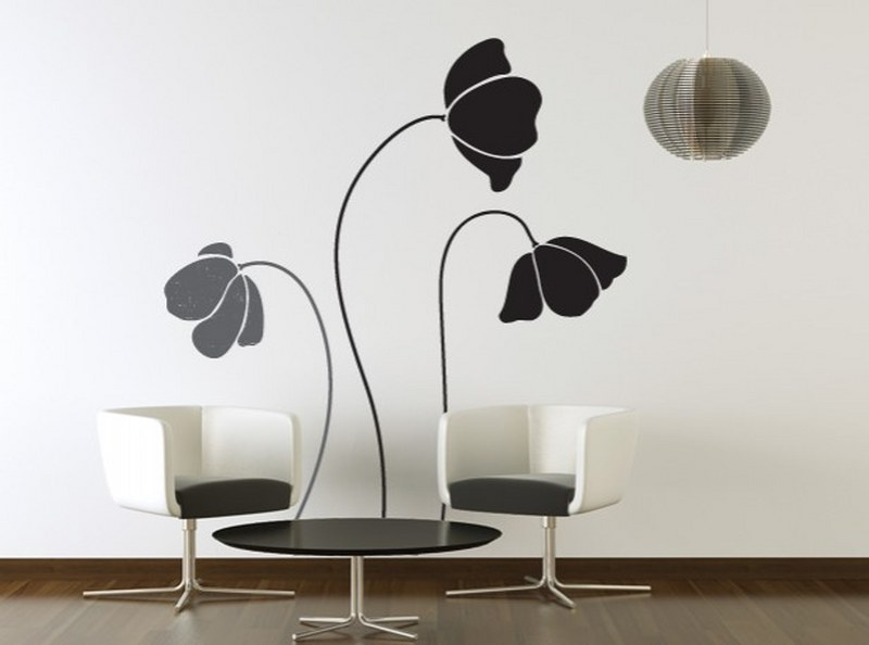 Flower-Wall-Sticker-Design